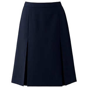 Axia プリーツスカート AS2293−8 ネイビー (5〜19号)