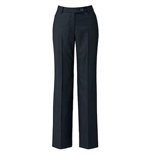 SOLOTEX Stripe �T パンツ LP6120−30 ブラック×ブルー (5〜21号)