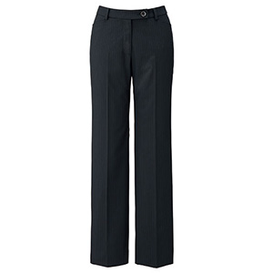 SOLOTEX Stripe �U パンツ LP6121−30 ブラック×ピンク (5〜21号)