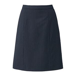 SOLOTEX Stripe �U Aラインスカート LS2198−28 ネイビー×ブルー (5〜21号)