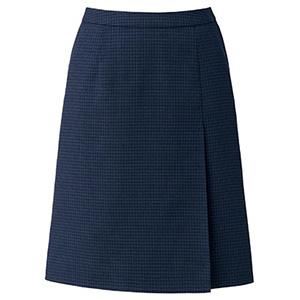 OpticalCheck プリーツスカート LS2200 ネイビー×ブルー (5〜21号)
