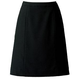 SOLOTEX(R) CREARTA(R) Aラインスカート AS2805−16 ブラック (21号)