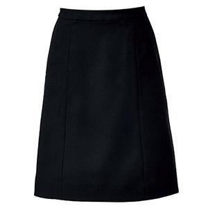 Aラインスカート AS2302−16 ブラック