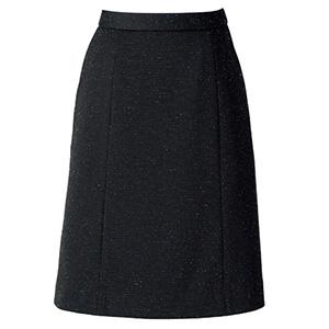 Aラインスカート AS2304−16 ブラック