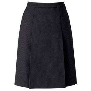 プリーツスカート AS2305−16 ブラック×レッド