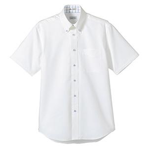 ユニセックス 半袖シャツ FB4505U−7 ホワイト×ブルー