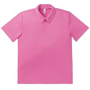 ドライポロシャツ MS3107−19 ピンク
