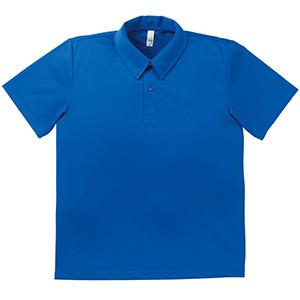ドライポロシャツ MS3107−7 ロイヤルブルー