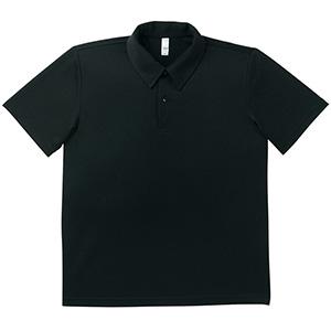 ドライポロシャツ MS3107−16 ブラック