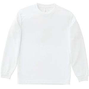 4.3オンスドライロングTシャツ MS1603−15 ホワイト