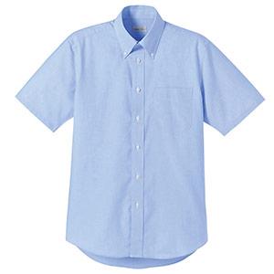 オックスフォード半袖シャツ FB4511U−7 ブルー