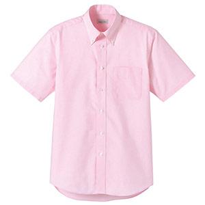 オックスフォード半袖シャツ FB4511U−9 ピンク