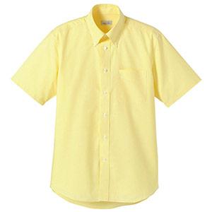 オックスフォード半袖シャツ FB4511U−10 イエロー
