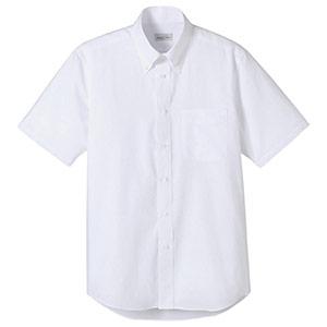 オックスフォード半袖シャツ FB4511U−15 ホワイト