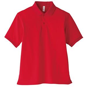 ポロシャツ ユニセックス MS3111−3 レッド (GS〜5L)
