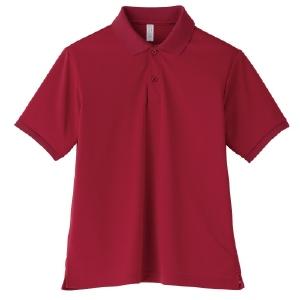 ポロシャツ ユニセックス MS3111−23 バーガンディ (GS〜5L)