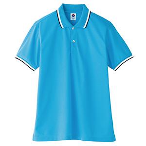 ポロシャツ ユニセックス TB4500U−7 ブルー (SS〜4L)