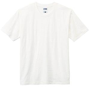 スラブTシャツ MS1143−15 オフホワイト