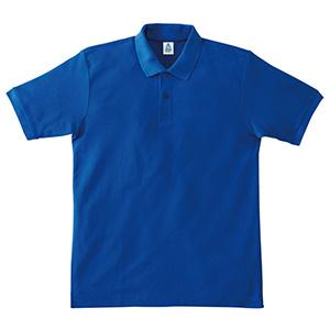 鹿の子ドライポロシャツ MS3113−7 ロイヤルブルー