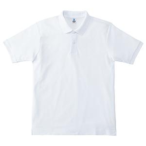 鹿の子ドライポロシャツ MS3113−15 ホワイト