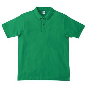 鹿の子ドライポロシャツ MS3113−34 グリーン