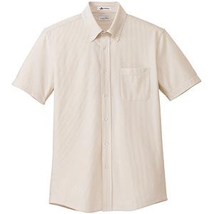 メンズ ニット吸汗速乾 半袖シャツ FB5029M−1 ベージュ