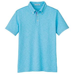 ユニセックス吸汗速乾ポロシャツ FB4531U−6 ブルー