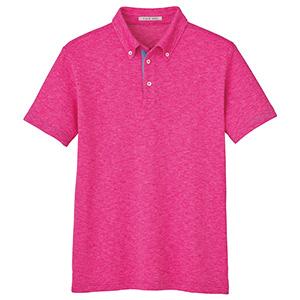 ユニセックス吸汗速乾ポロシャツ FB4531U−9 ピンク