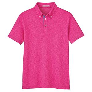 ユニセックス 吸汗速乾 ポロシャツ FB4531U−9 ピンク (SS〜4L)