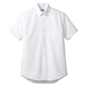 吸汗速乾 メンズ 半袖シャツ FB5036M−15 ホワイト