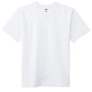 10.2オンススーパーヘビーウェイトポケット付きTシャツ MS1151−15 ホワイト