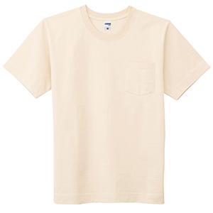 10.2オンススーパーヘビーウェイトポケット付きTシャツ MS1151−115 ナチュラル