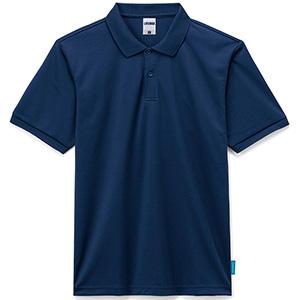 4.6オンス ポロシャツ MS3118−8 ネイビー