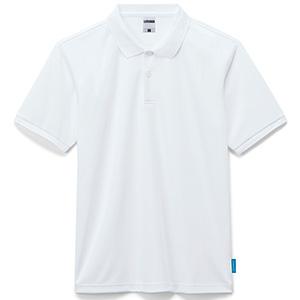 4.6オンス ポロシャツ MS3118−15 ホワイト