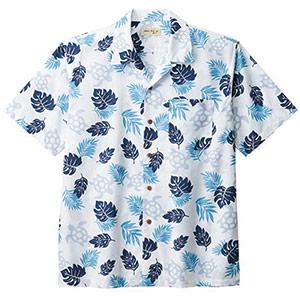ユニセックス アロハシャツ ウミガメ FB4545U−7 ブルー