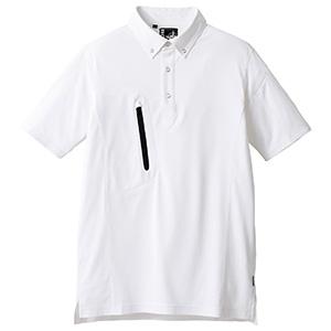 ユニセックストリコット半袖シャツ RS4905−15 ホワイト