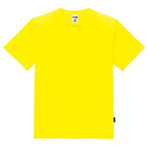 4.3オンス ドライTシャツ(ポリジン加工) MS1154−10 イエロー