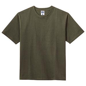 10.2オンス スーパーヘビーウエイトTシャツ MS1156−24 カーキ