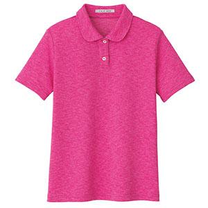 吸汗速乾 フラットカラーポロシャツ FB4029L−9 ピンク (SS〜4L)