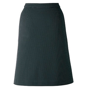 Comfy LS2749−16 Aラインスカート ブラック (5〜21)