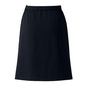 Aラインスカート BCS2703−16 ブラック