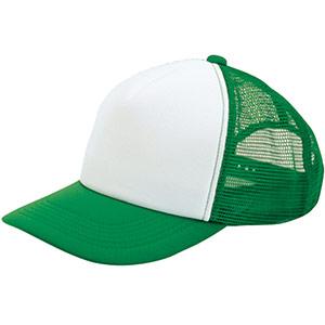 アメリカンキャップ MC6615−24 グリーン×ホワイト