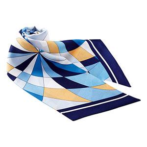 スカーフ BA9120−6 ブルー