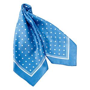 スカーフ BA9132−6 ブルー