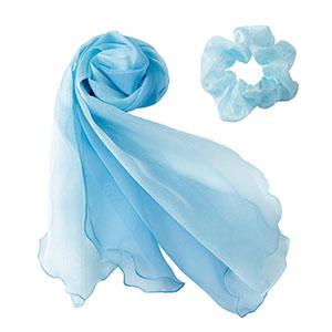 BA9133−6 スカーフ ブルー