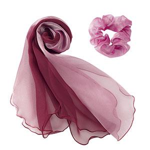 BA9133−14 スカーフ オーキッド