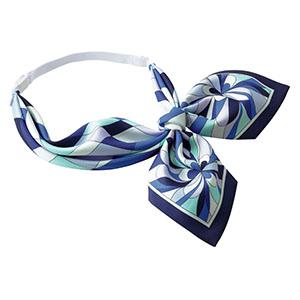 BA9134−6 スカーフ ブルー