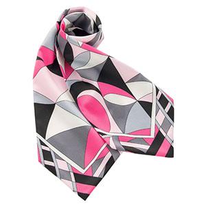 BA9136−9 スカーフ ピンク