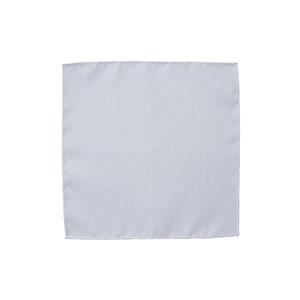 ポケットチーフ FA9454−15 ホワイト