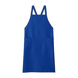 胸当てエプロン FK7168−7 ブルー